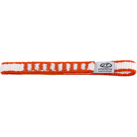 Climbing Technology Extender DY PRO Sling 10mm/12cm, white/red